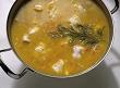 La sopa de pescado