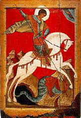 Sant Jordi y el silencio